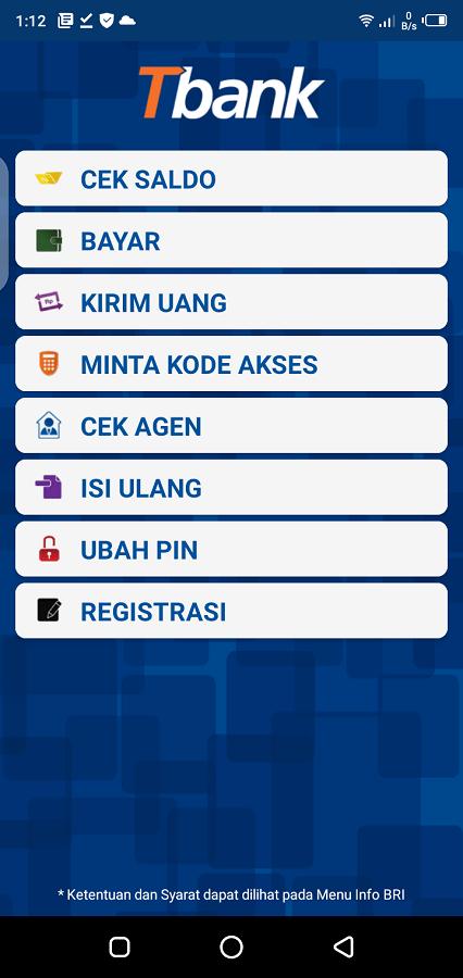 Screenshot of BRI Mobile Apk