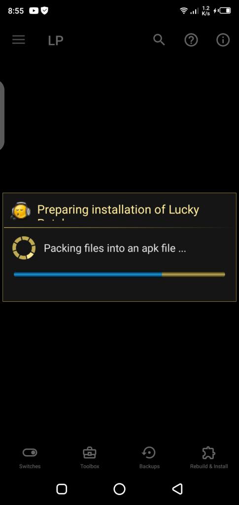 Screenshot of LP Installer App Apk