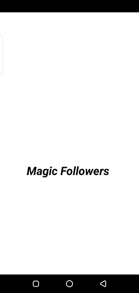 Screenshot of Magic Followers