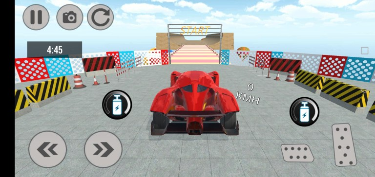Screenshot of Racing in Car 2021 Mod For Android