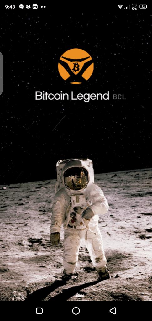 Screenshot of BitcoinLegend