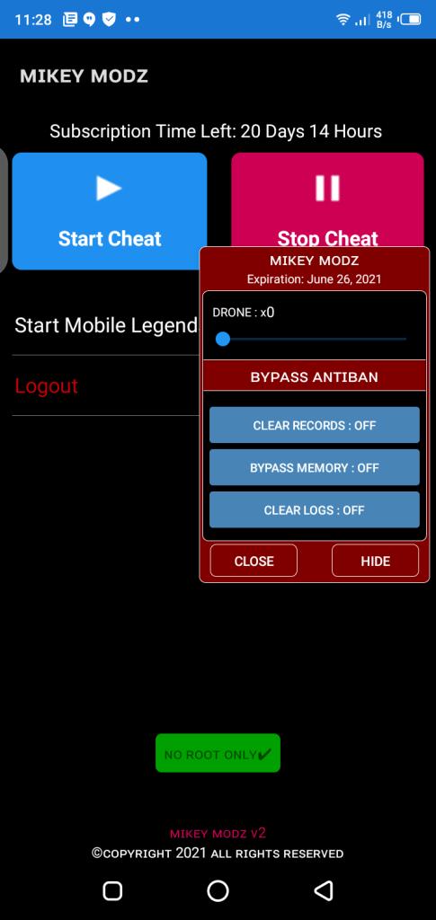 Screenshot of Mikey Modz  ML