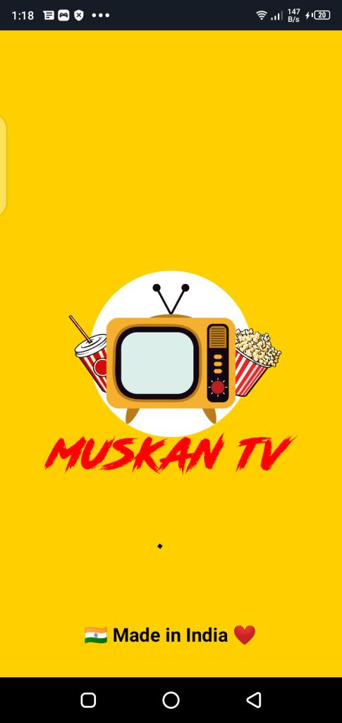 Screenshot of Muskan TV Apk