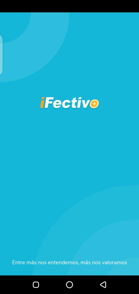 Screenshot of iFectivo