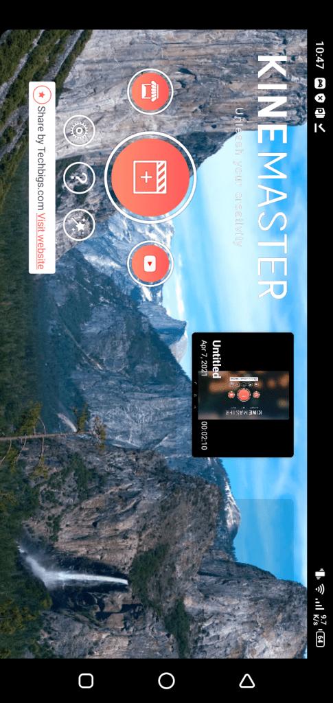 Screenshot of Kinemaster Diamond Mod App Apk