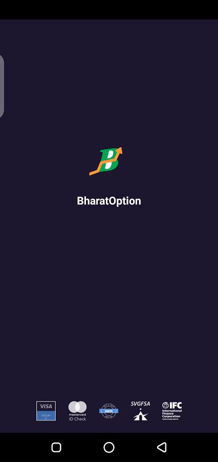 Screenshot of Bharat Option App Apk