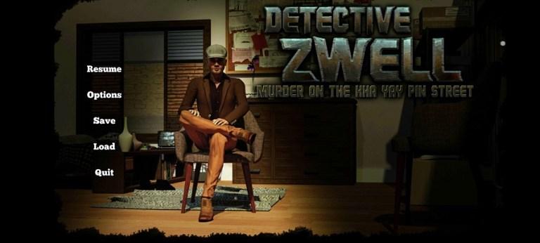 Screenshot of Detective Zwell App