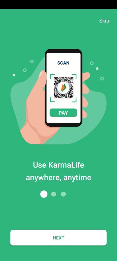 Screenshot of KarmaLife App Apk