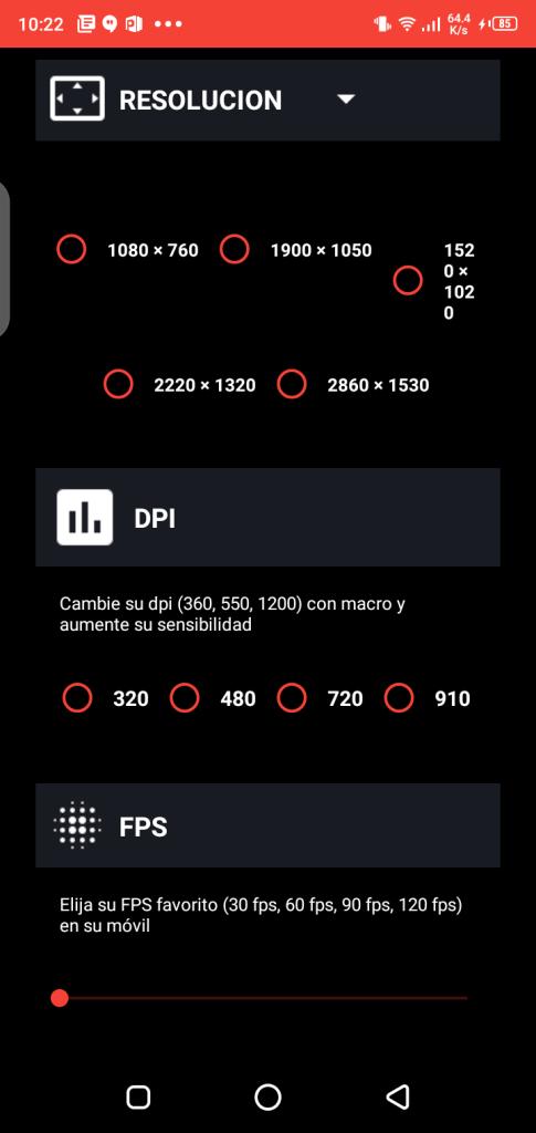 Screenshot of Macro Space v2 App Apk