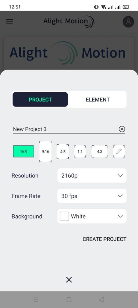 Screenshot of Alight Motion Mod Raja Apk