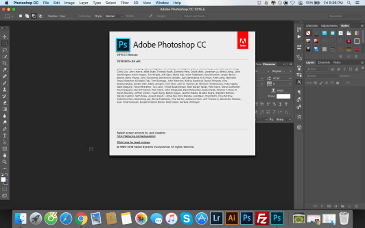 Adobe Photoshop CC (2018) 19 1 2 For MAC OS X Offline installer