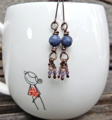 AVAILABLE! sodalite, amethyst and rhodonite