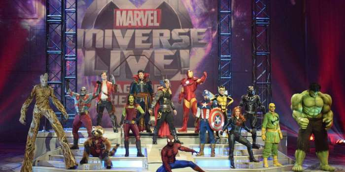 Win tickets to see Marvel Universe Live! Age of Heros!