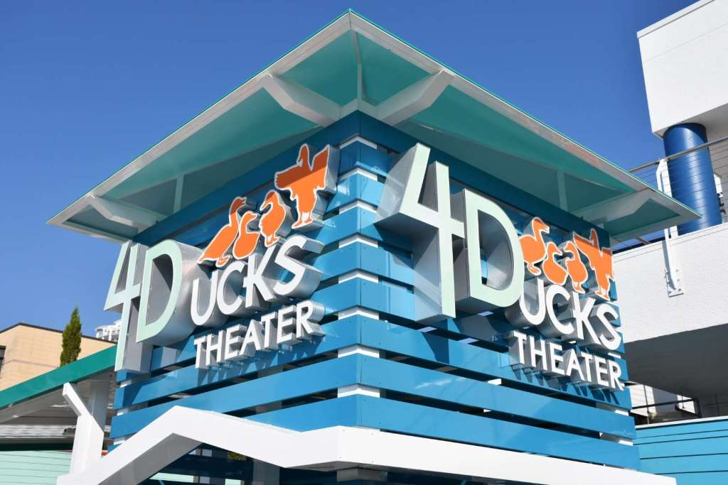 Florida Aquarium 4-D Theater