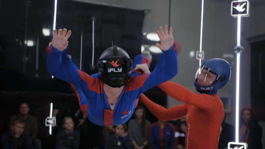 How To Train Your Dragon VR Experience at iFLY