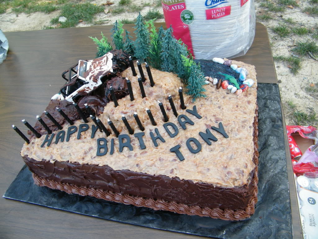 Did You Ever Have An Off Road Birthday Or Wedding Cake