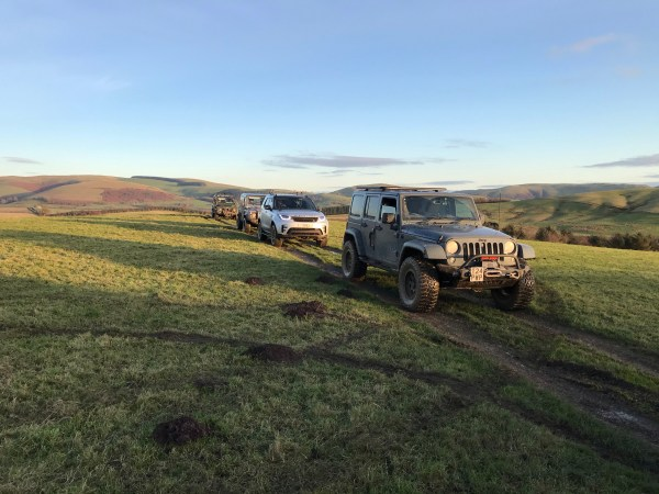 4×4 Mid Wales Tour