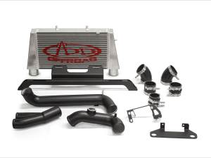 ADD Ford Raptor Intercooler Upgrade Kit by AFE with Relocation Bracket and rotated Bottom mount BOV Tube