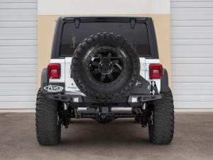 Jeep Wrangler JL Stealth Fighter Tire Carrier in Hammer Black