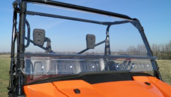 Kawasaki Mule Pro-FX Lexan Windshield – Off Road Body Armor