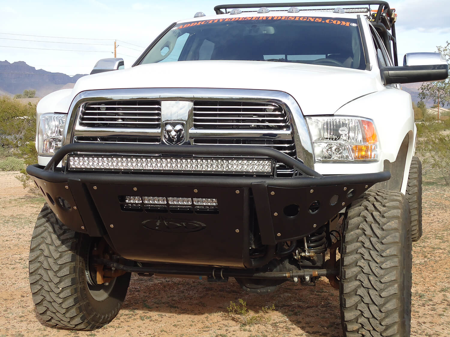 2010 2018 dodge ram 25003500 stealth front bumper off road body dodge ram 25003500 front hd standard front bumper with stealth panels with 40 aloadofball Choice Image