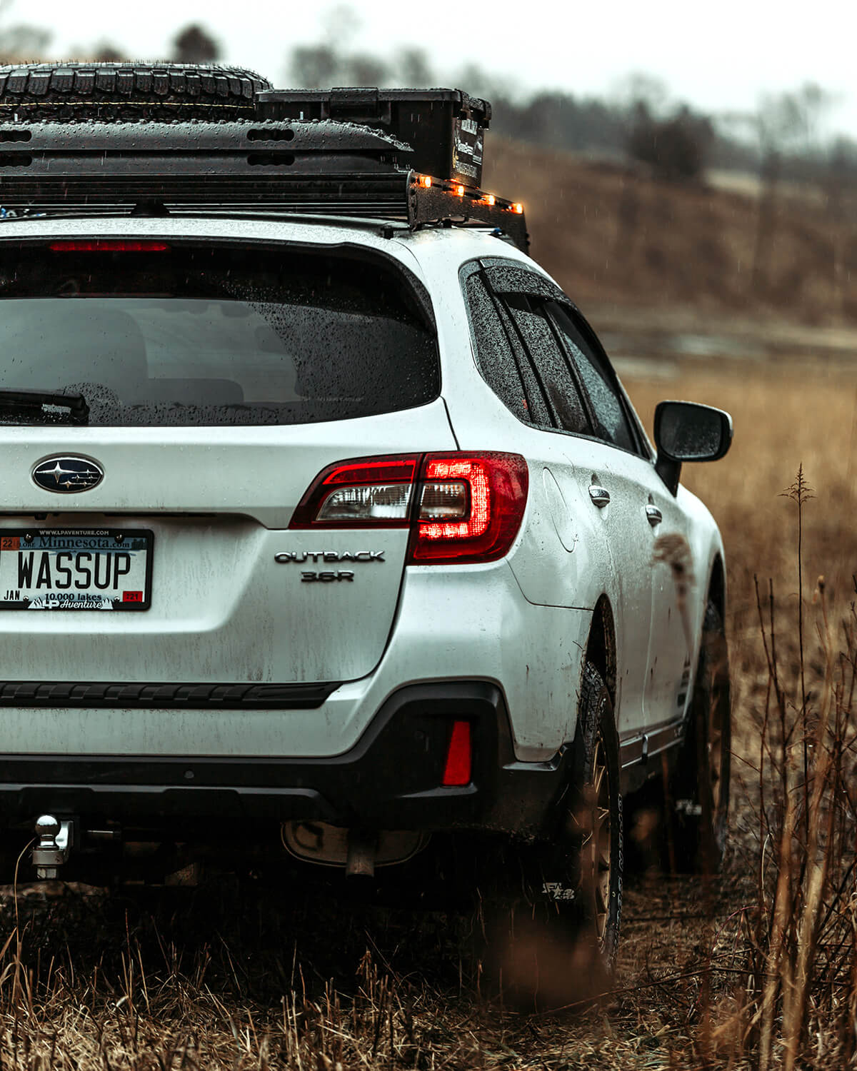 lifted 2019 subaru outback with
