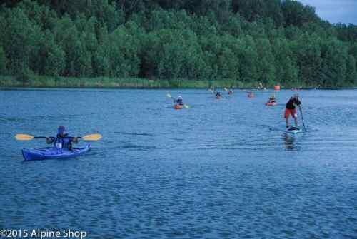 15-KW-ORRL Paddle Sprints 2 finish