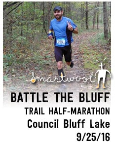 Smartwool Battle the Bluff Trail Half Marathon