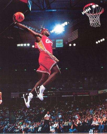 LeBron James Rookie Year - 2003