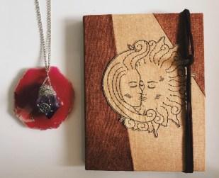 Sun & Moon Journal by Caroline Edmunds-Latham