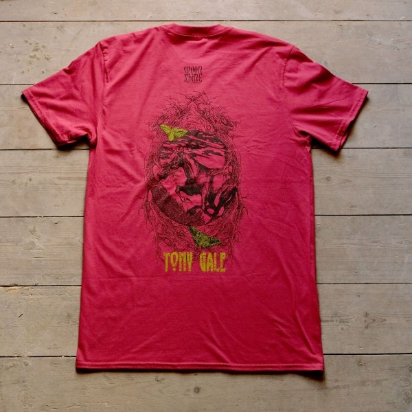 Moonshine Tony Gale T Shirt Back