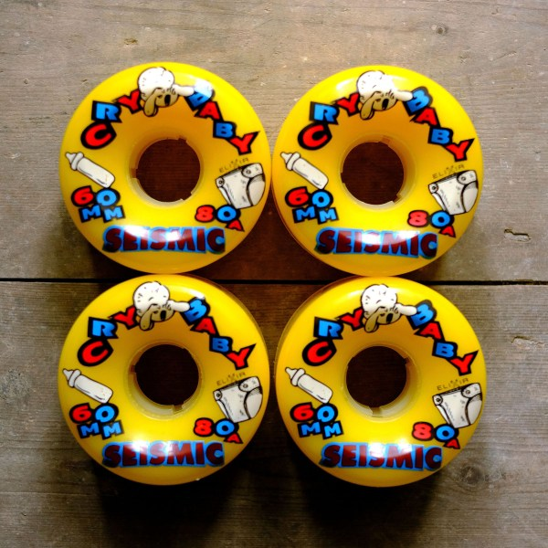 Seismic Cry Baby 60mm 80a Square