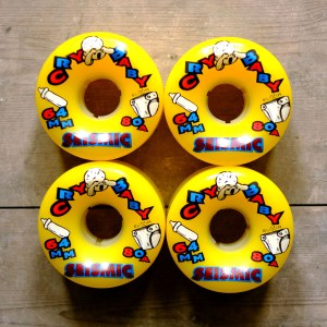 Seismic Cry Baby 64mm 80a Square