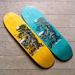 Dan Garb Yellow and Turquoise
