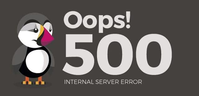 what is 500 internal server error