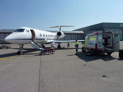 air ambulance tar mat good