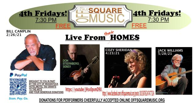 4th Friday Concerts At Home