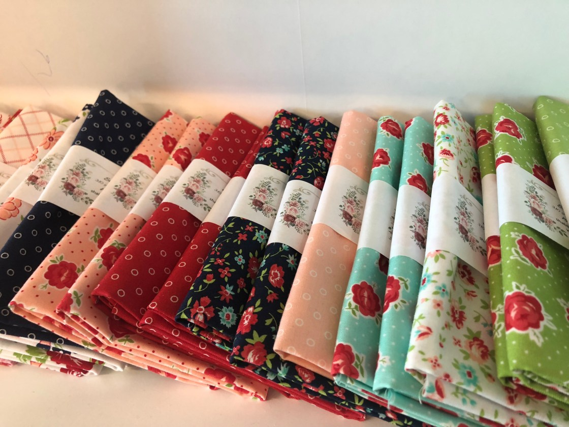 Quilting fabric samples