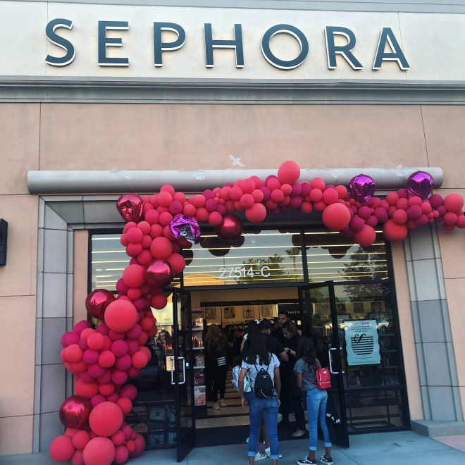 Sephora on opening day
