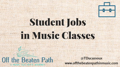 Student Jobs in Music Classes
