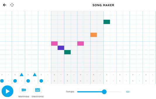Chrome Music Lab: Song Maker