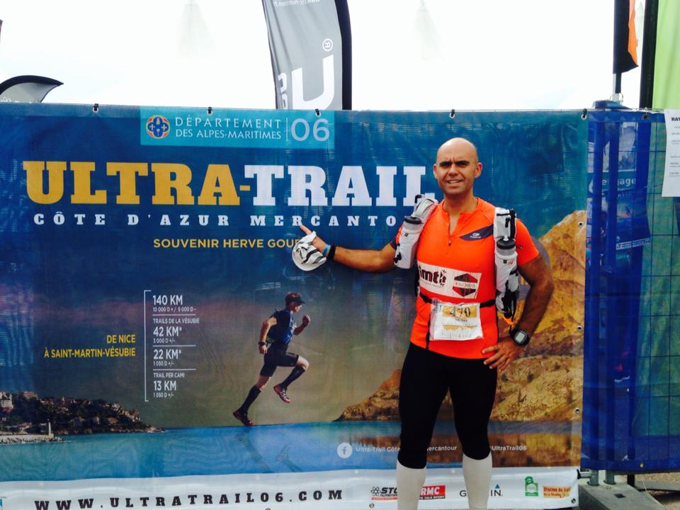 Ultra-Trail® Côte d'Azur Mercantour, a primeira impressão