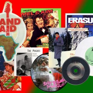 Lots of '80s Christmas singles