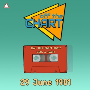Off The Chart: 29 June 1981 (with a red triangle in the top left corner)