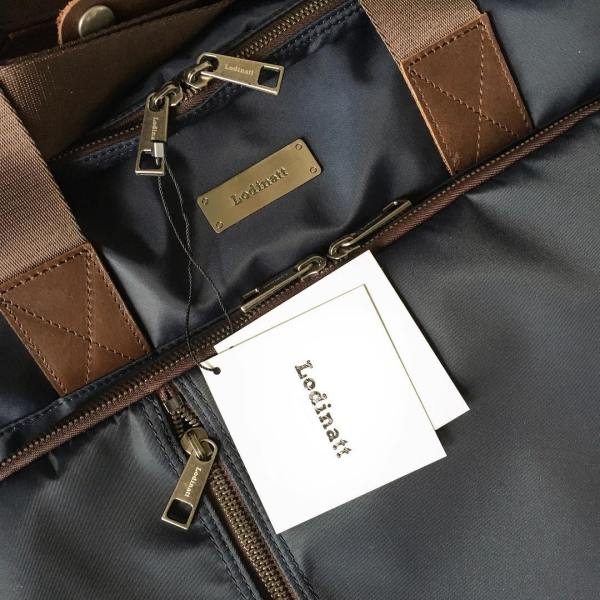 Just received this great @lodinattofficial convertible #briefcase all they way from #korea. They just launched a line of bags for men and asked that we take a look. Our initial assessment is very positive. It feels like a solid and well made #bag. Classic, functional design crafted from dense, high quality nylon with leather details. #lodinatt