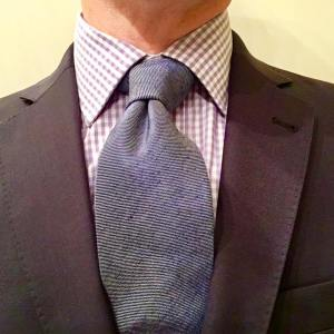 Today is shades of blue and lavender mtm suit fromhellip