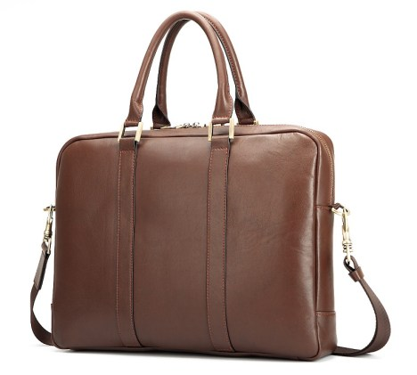 Benchmark Chestnut Briefcase