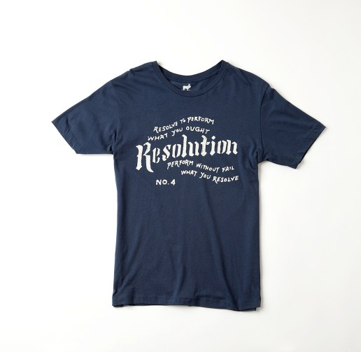 Blue Franklin Tee