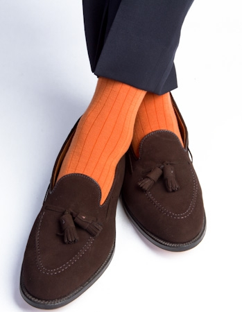 Dapper Classics (Burnt Orange, Merino Wool)