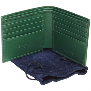 Emmett London Green Folding Wallet_1